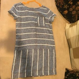 Lou & Grey Chambray Stripe Dress